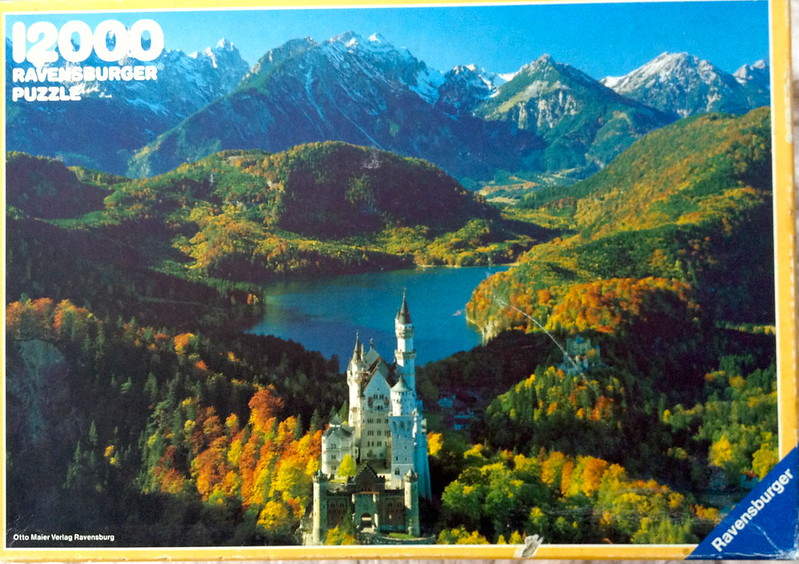 New Puzzle Day: Neuschwanstein Castle