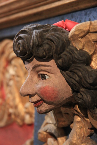 Saint-Thégonnec church - wooden sculpture