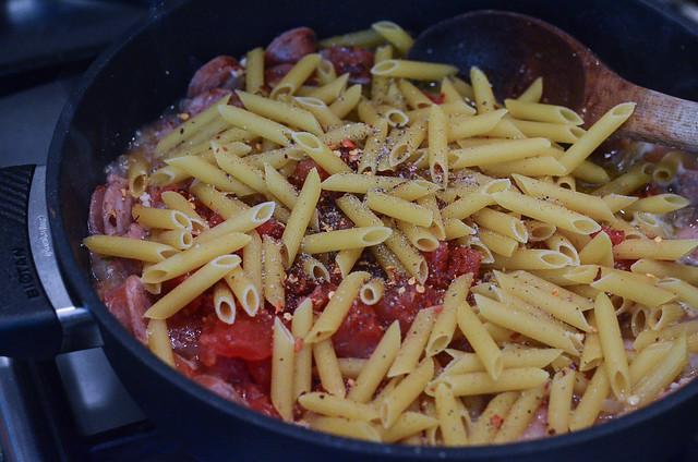Skillet Sausage Pasta-017.jpg
