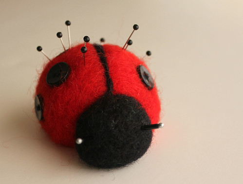 Lady Bug_front by Barbara Weiss