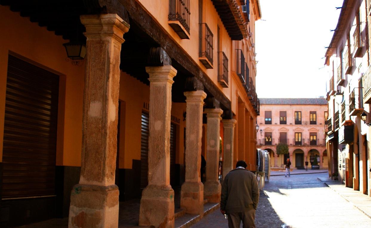 6. Calle típica de Villanueva de los Infantes. Autor, Ángel Aroca