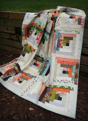 Quiet Cabin Quilt - Draped