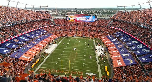 Broncos vs Ravens 2013 NFL KickOff