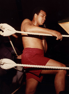 Muhammad Ali visits Washington