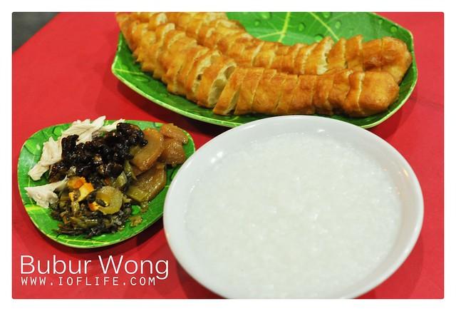 Bubur wong bogor set