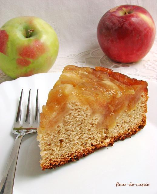 яблочно-медовый пирог 2