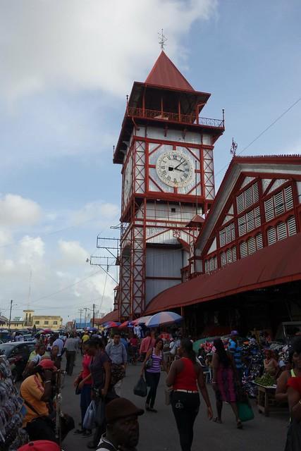 Mercado de Stabroek em Georgetown
