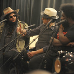 Wed, 11/09/2013 - 9:34pm - Blue Note Records' Don Was interviews Elvis Costello and Amir '?uestlove' Thompson about their 2013 release, Wise Up Ghost. At Electric Lady Studios in NYC for WFUV. Photo by Neil Swanson