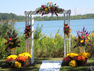 Wedding - Flowered Arch