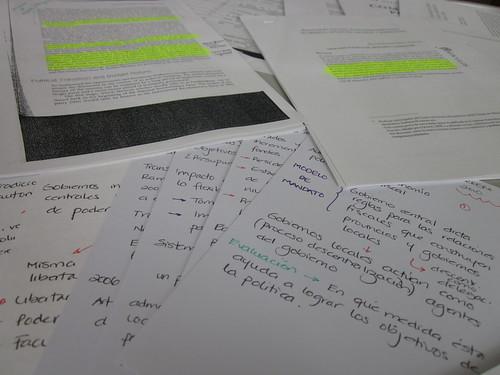 Preparing lecture slides