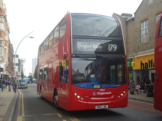 Stagecoach 10183 on Route 179, Ilford
