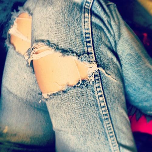 Kurt Cobain jeans