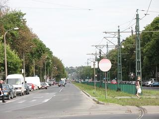 A view of Nowa Huta, Krakow, Poland