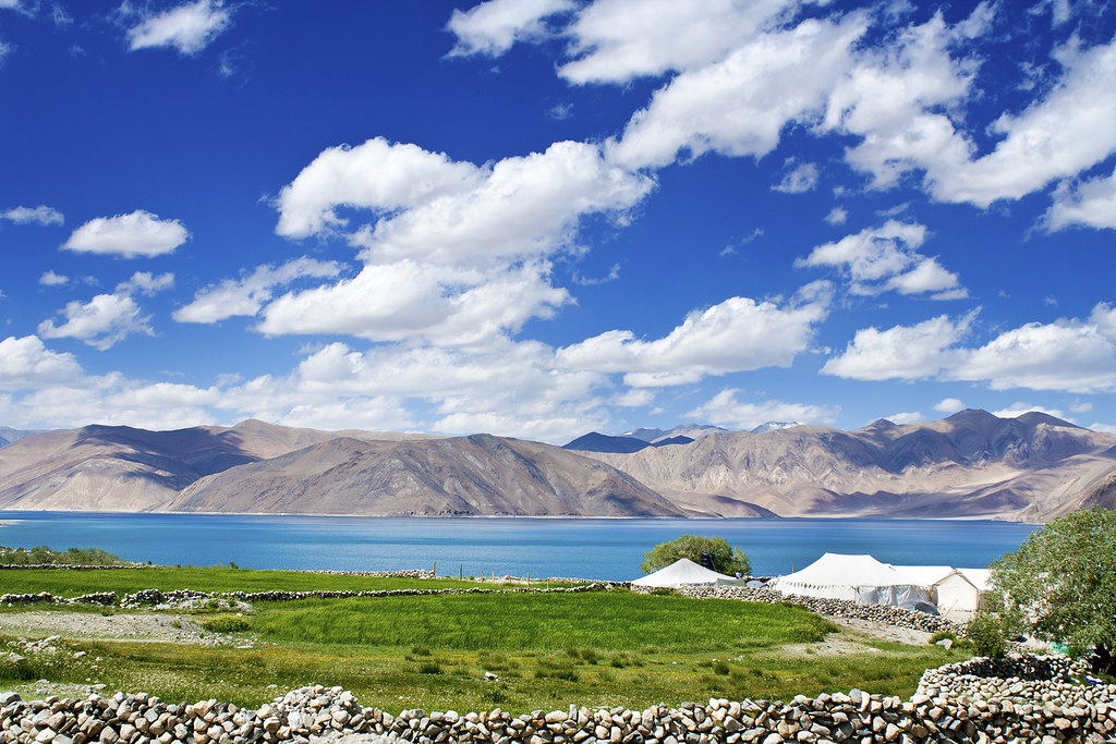 The Beautiful Pangong Tso