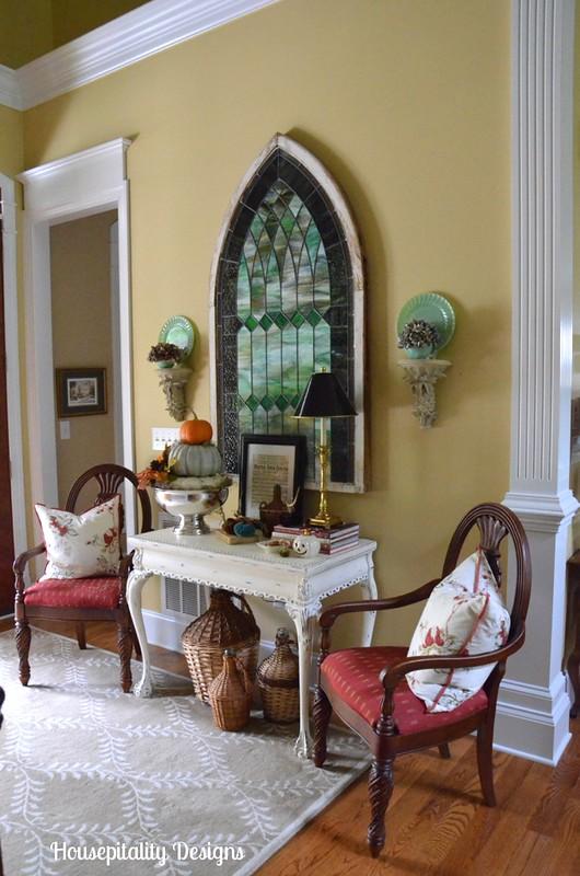 Housepitality Designs Fall Foyer