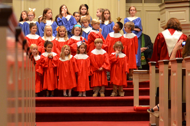 Hudson's 1st Cherub Choir Performance