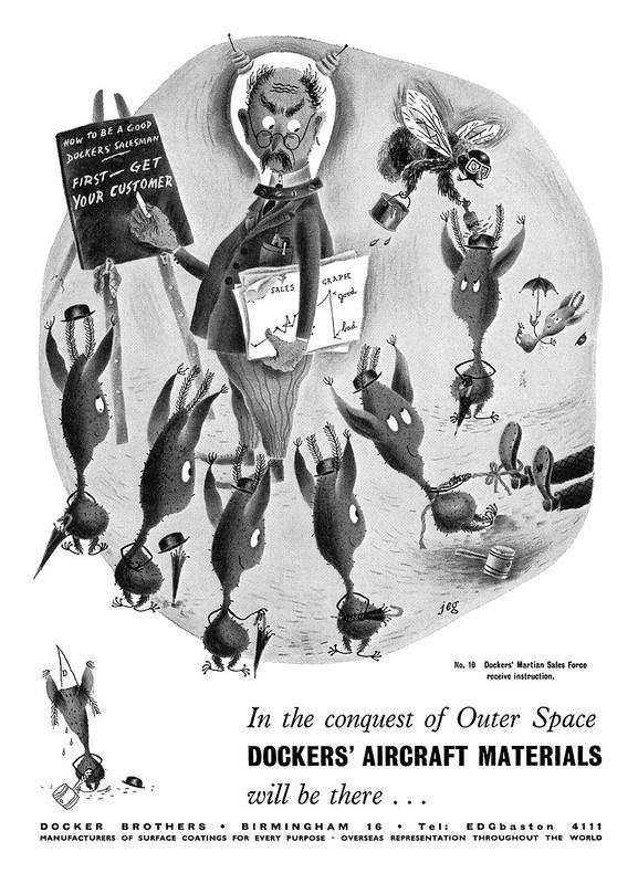 1953 Docker Brothers ad