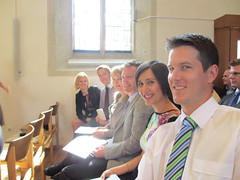 James and Meike's Wedding - At the church