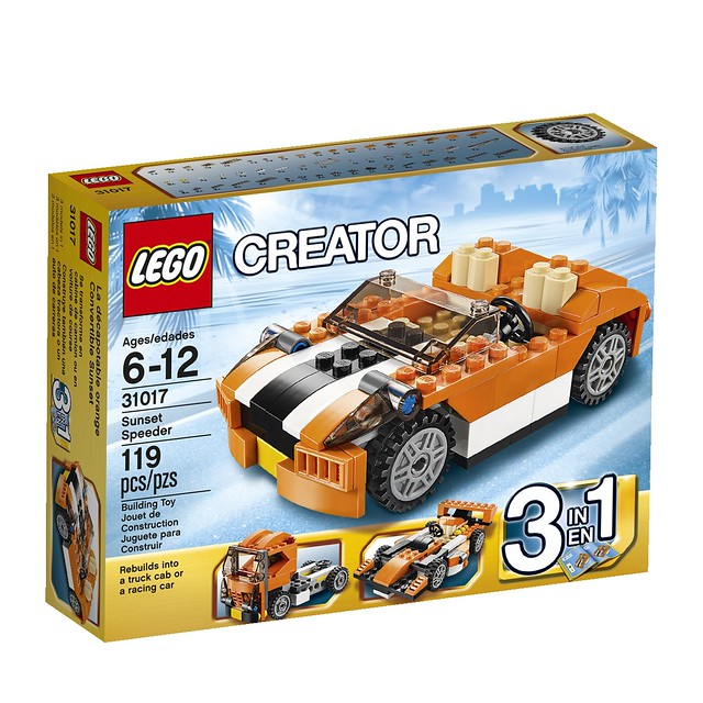 LEGO Creator 31017 - Sunset Speeder