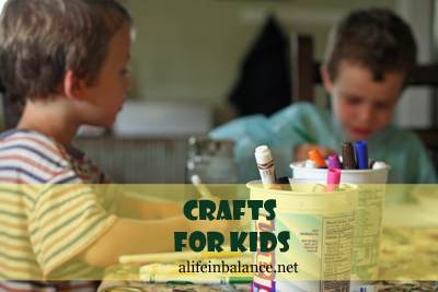 Crafts for Kids: Toddlers, Preschoolers, Elementary Age