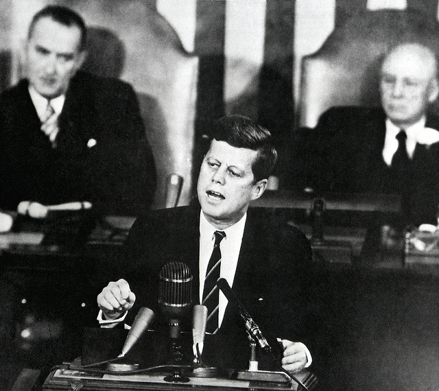 President John F. Kennedy Urges Support for Moon Mission (NASA, Marshall, 05/25/61)