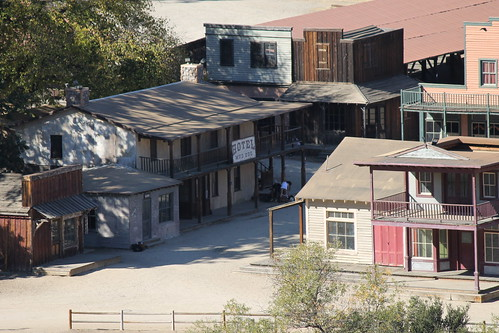 Paramount Ranch (Santa Monica Mountains National Recreation Area) - Friday November 1, 2013