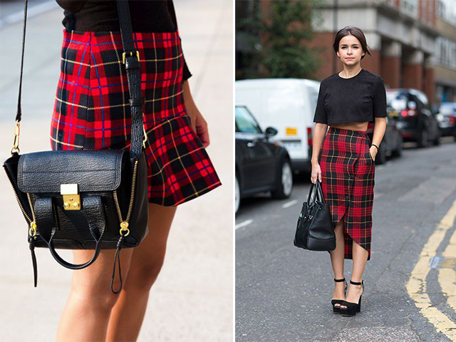 a pair and a spare tartan inspo