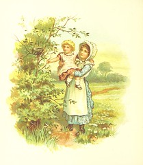 Image taken from page 32 of 'Nursery Songs. [Edited and] illustrated by J. Hall'