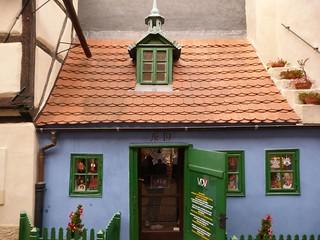 Casita de la calle del oro de Praga