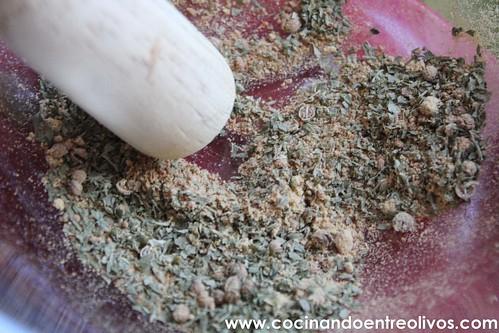 Pollo almendrado con miel www.cocinandoentreolivos (6)