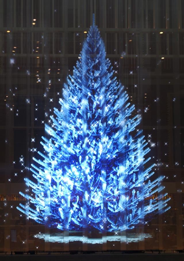 D Hologram Christmas Decorations