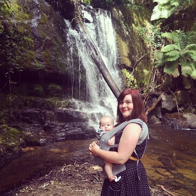 Lilydale Falls #Tasmania #babyjagoe