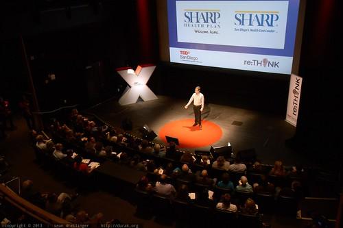 Jack Abbott Thanks Sharp Health Plan for Sponsoring TEDx   TEDxS