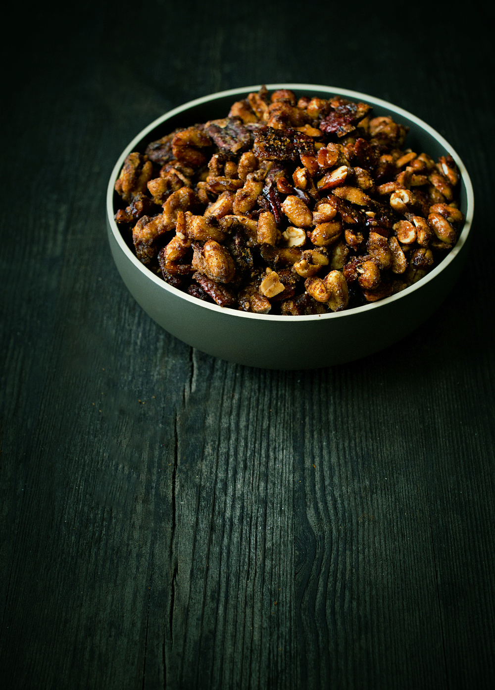 Spicy Candied Nuts