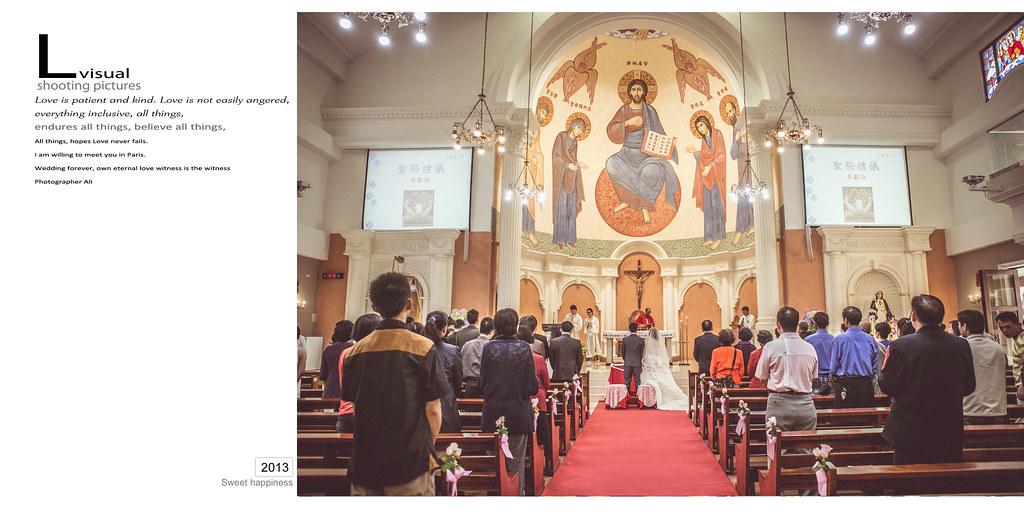 婚禮記錄 嘉文&鈺綺  教堂儀式 結婚宴客 新北市幸福宴