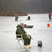Me Ice Fishing on High Lake by monon738