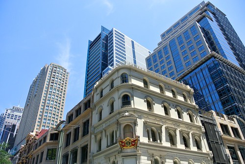 The corner of Pitt Street and King Street