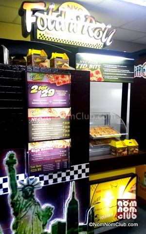 Fold N' Roll Food Cart