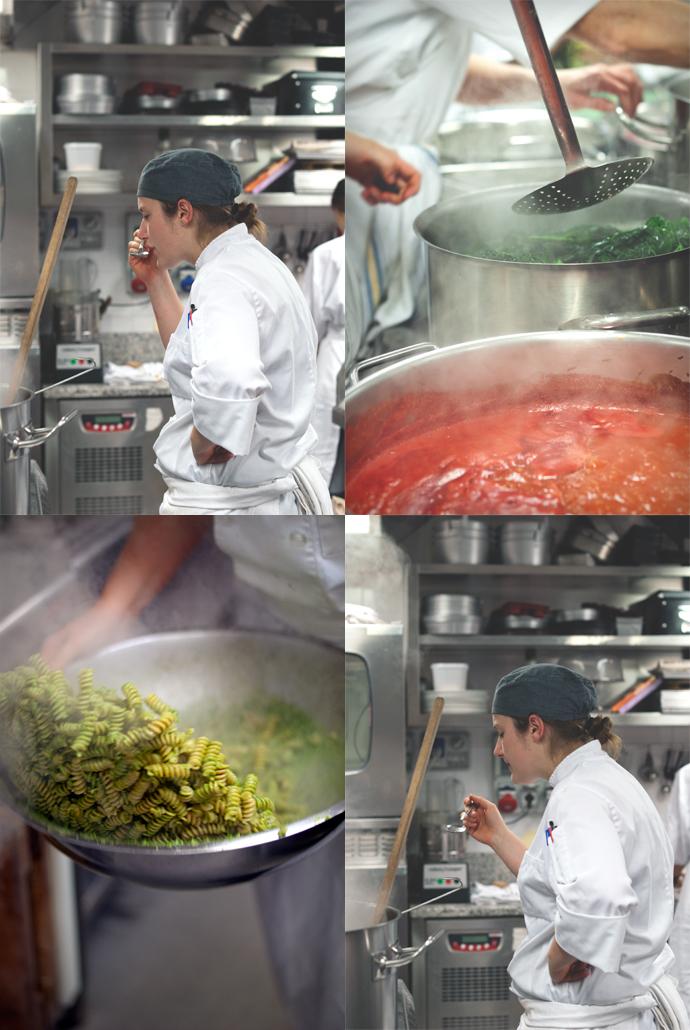 cuoca e pasta