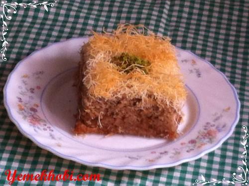 tel kadayıflı kek tarifi kadayıflı tatlılar kadayıflı kek tatlısı oktay usta kadayıflı kek tarifi kadayıflı kek şerbetli