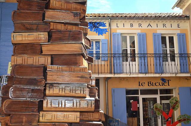 Librairie Blueuet, Banon, Provence