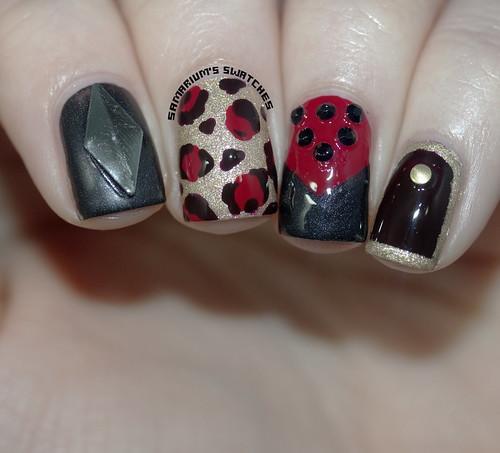 Opi Gwen Stefani Nail Art (2)