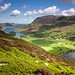 Looking down at Buttermere and Crummock Water. by Tall Guy