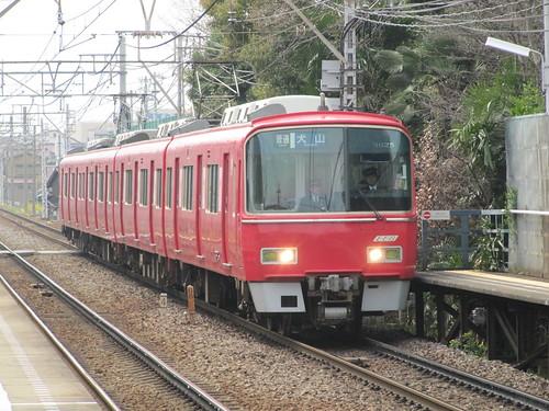 名鉄電車の普通犬山行き