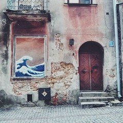 """""""Fish Street"""" in Lublin, ulica Rybna. It used to be a street where fishermen gathered to sell their fish they got from a nearby lake. Now it lost its importance and is falling in ruins...."""