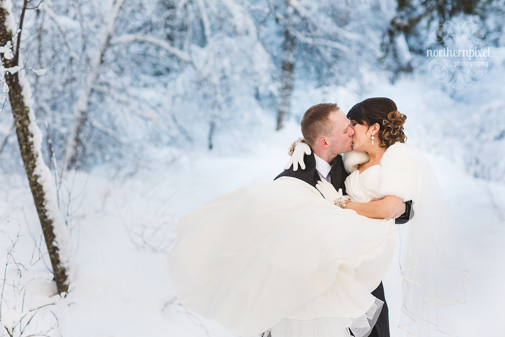 Kevin & Colette - Winter Wedding in Prince George BC