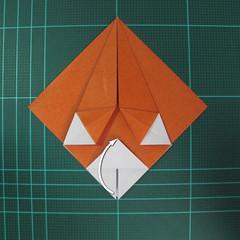 การพับกระดาษเป็นที่คั่นหนังสือหมีแว่น (Spectacled Bear Origami)  โดย Diego Quevedo 011