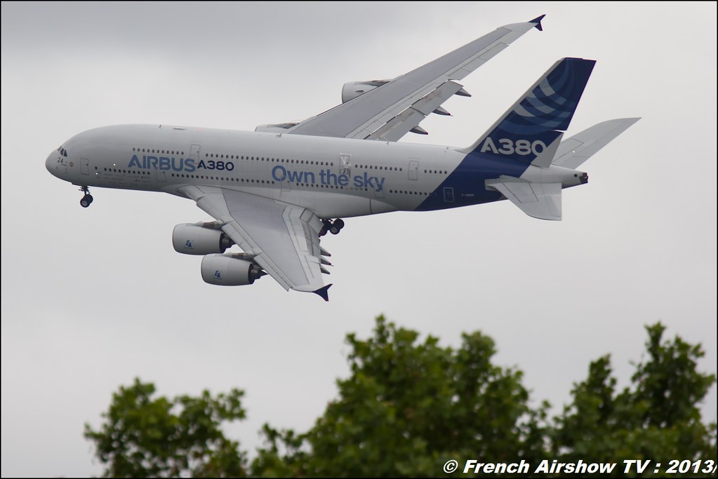 A-380 ,Salon du Bourget 2013,Paris Airshow 2013