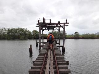 Sugar Cane Lift Bridge on the Maroochy River