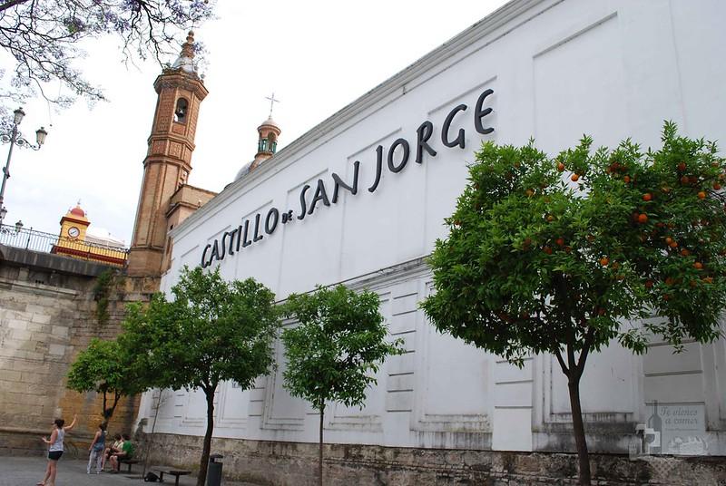 Castillo de San Jorge. Triana. Sevilla.
